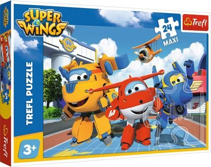 Puzle Super Wings 24 pezzi