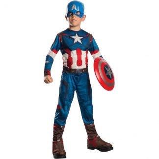 Costume Capitan America Bambino